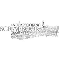 What you need to know to make a scrapbook text vector