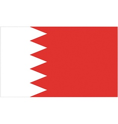 Bahraini flag vector