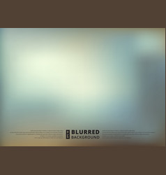 abstract blue blur unfocused style background vector image