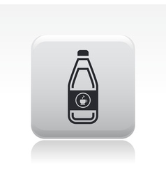 coffee bottle icon vector image