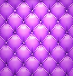 Purple upholstery leather pattern background vector image