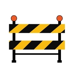 road sign under construction repair icon vector image
