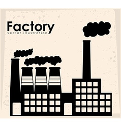 Factory design vector