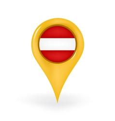 Location austria vector