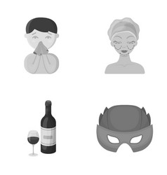 Medicine treatment business and other web icon vector
