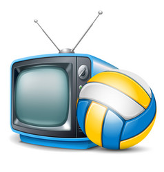 Volleyball channel vector