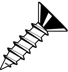 Tg00061 sheet metal screw01 vector