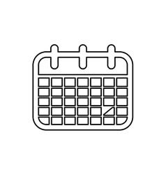 Calendar event date vector image vector image