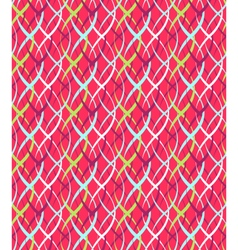 Seamless Bright Abstract Vertical Pigtail Pattern vector image vector image