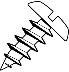 Tg00062 sheet metal screw02 vector