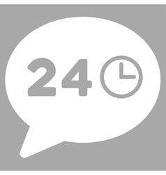 Message Hours Icon vector image