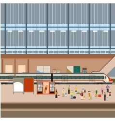 Train big station vector
