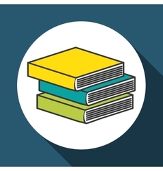 Books icon design vector