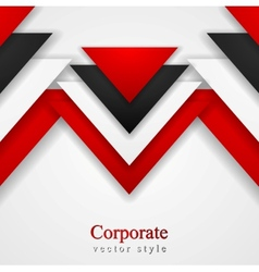 Abstract corporate background with tech elements vector