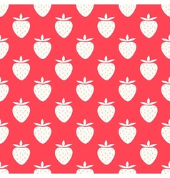 Strawberry summer pattern vector