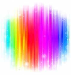 glow background vector image