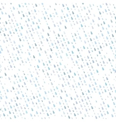 Seamless raindrops pattern eps 10 vector