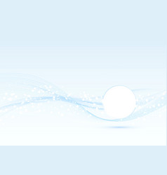 abstract speed swoosh wave blue layout with text vector image