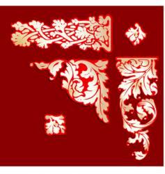 baroque clip-art vector image