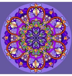 Mandala decoration isolated design element vector image vector image
