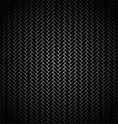 metal grille vector image vector image
