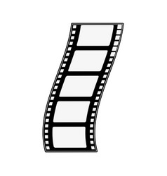 movie reel symbol vector image vector image