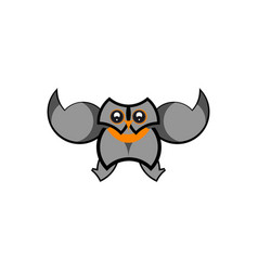 Owl icon design vector