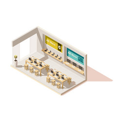 Isometric gadget shop vector