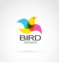 Bird design vector
