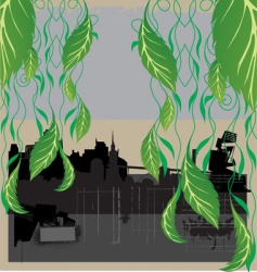 City nature vector