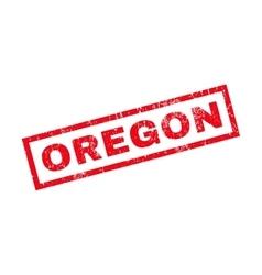 Oregon rubber stamp vector
