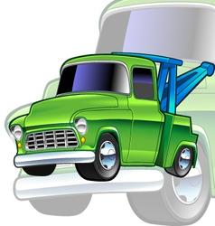Tow-truck vector