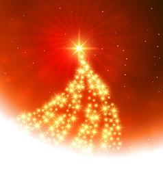 Christmas festival background vector