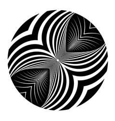 Circle design element vector