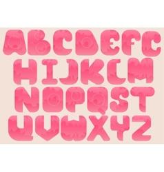 Complete Alphabet vector image