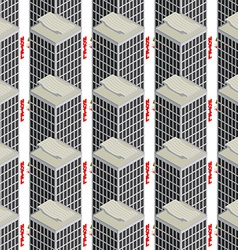 Hotel seamless pattern vector