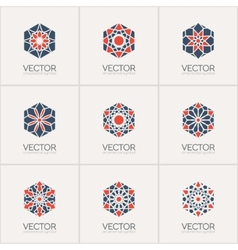 Ornamental symbols vector