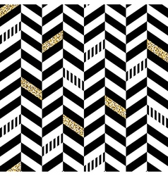 Classic seamless chevron pattern with glittering vector