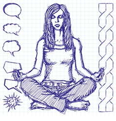 balance vector image vector image