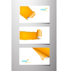 gift cards vector image vector image