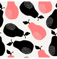 Seamless Pears Pattern vector image