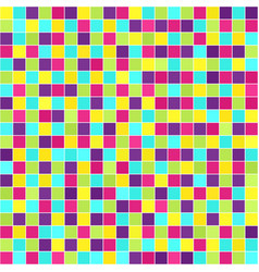 square tile pattern seamless background vector image