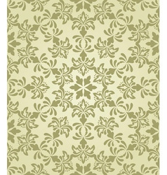 seamless vintage wallpaper pattern vector image