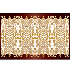 Antique ottoman borders and frames series fifty vector