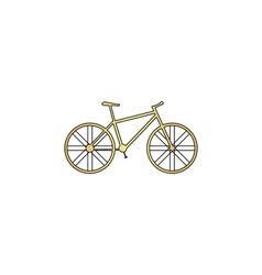 Bicycle computer symbol vector