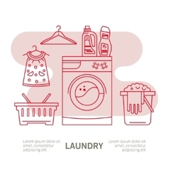Clothing cleaning vector
