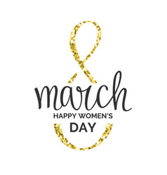 holiday 8 march happy women s day vector image vector image