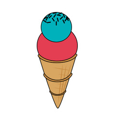 ice cream icon image vector image vector image