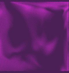beautiful halftone pink dot comic book style vector image vector image