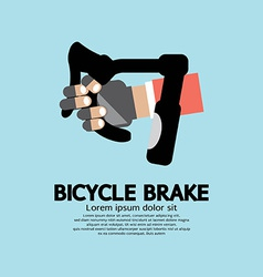 Bicycle Brake Graphic vector image vector image